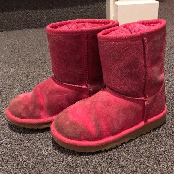 Girls Ugg sparkle boots